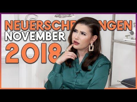 Top Buch Neuerscheinungen | November 2018 | Sara Bow Books