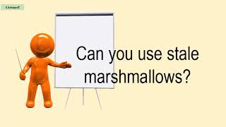 Can You Use Stale Marshmallows?