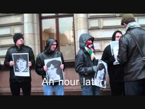Margaret Thatcher's Funeral - Glasgow Reaction 17 April 2013