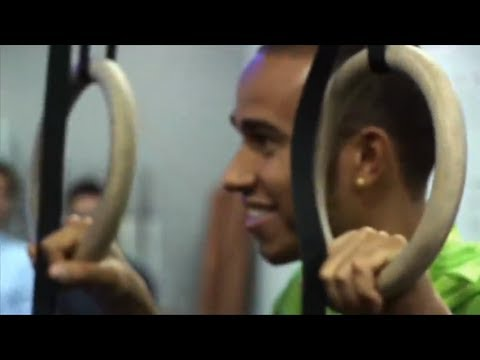 Lewis Hamilton at Reebok Crossfit Korea