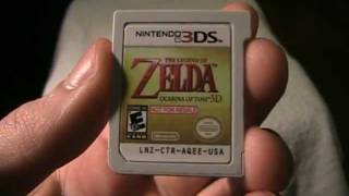 Ocarina of Time 3D Not For Resale Demo Chip Review