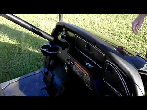 2008 Club Car Precedent Golf Cart klip izle