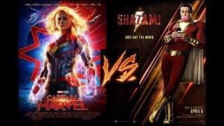 Captain Marvel VS. Shazam- Brie Larson Is Destroying Marvel's Box Office!