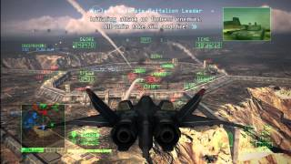 Ace Combat 6: Fires of Liberation Mission 10 (Ragno Fortress)