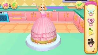 Permainan Anak Perempuan: Main Masak Masakan Anak Membuat Kue Barbie Lucu