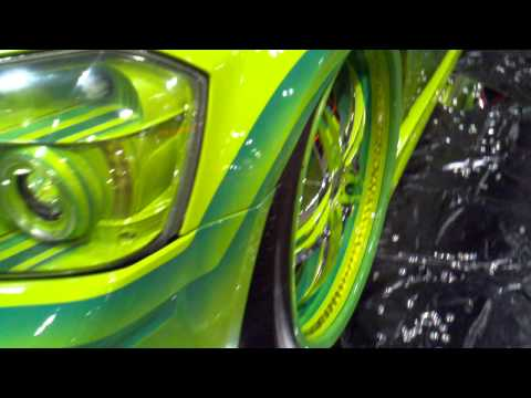 Curlys Pinstriping Green Magnum with Patterns Graphics