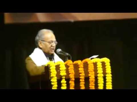 01 Renowned Hindi novelist Shri SANJEEV @Third Shrilal Shukla Smriti IFFCO Sahitya Samman 2013