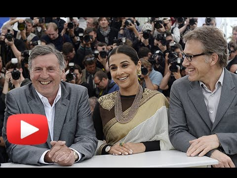 Cannes Film Festival 2013 - Vidya Balan At The Jury Photocall video