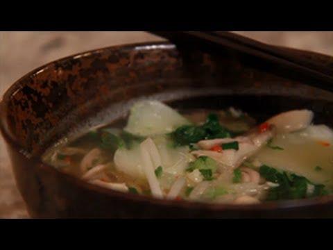 Healthy Asian Noodle Soup