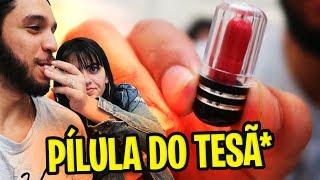 TESTANDO A PÍLULA DO TESÃ*** !!!