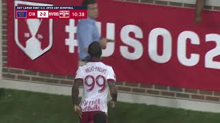 U.S. Open Cup: FC Cincinnati vs. NY Red Bulls: Bradley Wright-Phillips Second Goal - Aug. 15, 2017