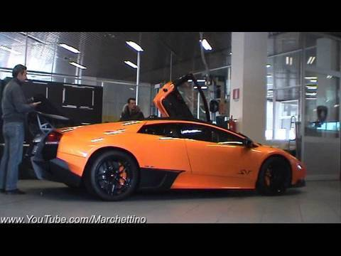 Lamborghini LP670-4 SuperVeloce Tubi Exhaust Start Up and Drives Off