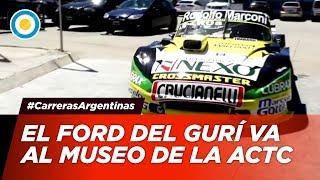 El Gurí Martínez entregó su auto al Museo de la ACTC - #CarrerasArgentinas