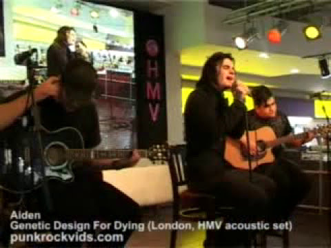 Aiden - Genetic Design for Dying Acoustic Live