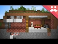 How to make a SECURE HIDDEN BASE in Minecraft!