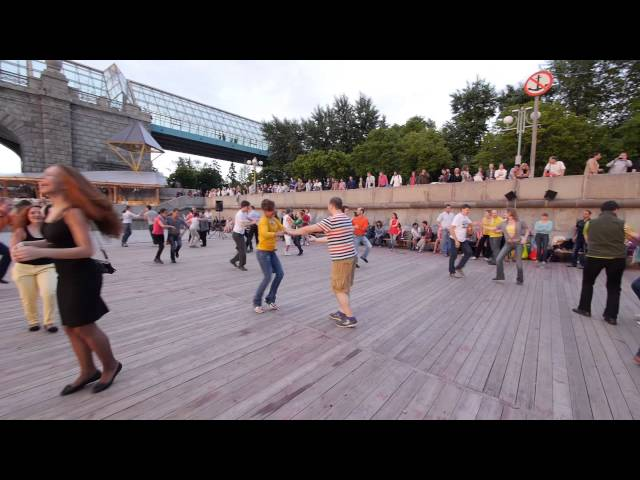 Open Air Salsa in Moscow (May 29th 2013)