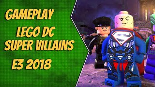 Gameplay LEGO DC Super Villains - E3 2018