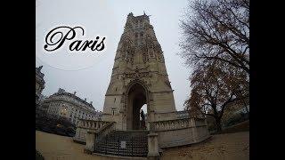 Paris e a torre da igreja destruída | Que viagem