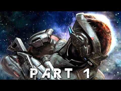 MASS EFFECT ANDROMEDA Walkthrough Gameplay Part 1 - Planetside (Mass Effect 4)