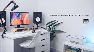 My $9,000 Minimalist Desk Set Up + Studio Tour in Lagos, Nigeria