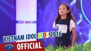 VIETNAM IDOL KIDS - THẦN TƯỢNG ÂM NHẠC NHÍ 2016 - TÓC HÁT & PRICE TAG - THIÊN THẢO