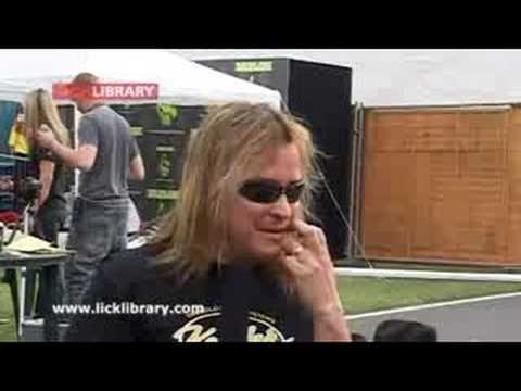 Glen Drover Interview @ Download 2007 - www.licklibrary.com