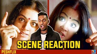 Manichitrathazhu vs Chandramukhi | Shobana vs Jyothika | Transformation Scene Reaction | PESHFlix