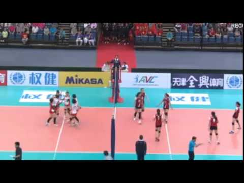 Vietnam - Japan [18th ASIAN SENIOR WOMEN'S Volleyball Championship]