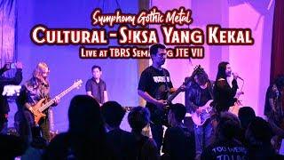CULTURAL GOTHIC - S!KSA YANG KEKAL | Live at Java Total Extreme VII | TBRS Semarang
