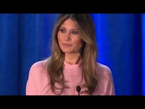 Melania Trump: If I'm first lady ...