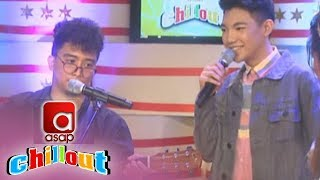 ASAP Chillout: Darren Espanto gives a sample performance with Sud Ballecer