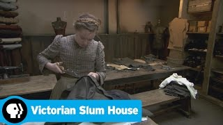 VICTORIAN SLUM HOUSE | Russell Struggles with Tailoring | PBS