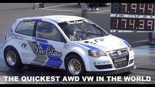 DON OCTANE Quickest VW Polo In The World 1/4 Mile 7.94 @ 174mph