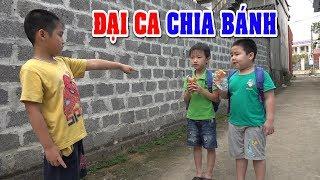 ĐẠI CA CHIA BÁNH❤Dạy trẻ kỹ năng sống khi chia đồ ăn❤Kênh Em Bé