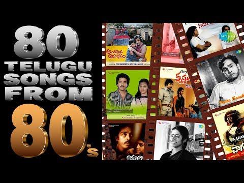 80 Songs Of 80's   N.T. Rama Rao   Sobhan Babu   Chiranjeevi   One Stop Jukebox   Telugu   HD Songs