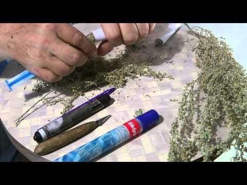 Как сделать полынную сигару самой