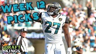 Week 12 NFL DraftKings Picks