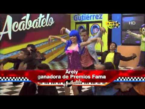 Arely vuelve a bailar como lo hizo en Premios Fama