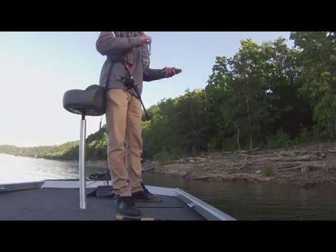 Fishing Beaver Lake Rogers  Arkansas  5 7 2016