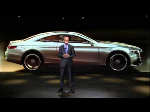 New Mercedes LIVE Premiere 2014 NAIAS North American International Auto Show