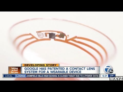 Google Patents Contact Lens Cameras; Internet Is Wary