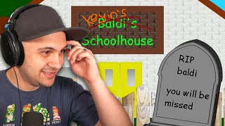 I guess I KILLED Baldi, Again... And took over his school... | Baldi's Basics