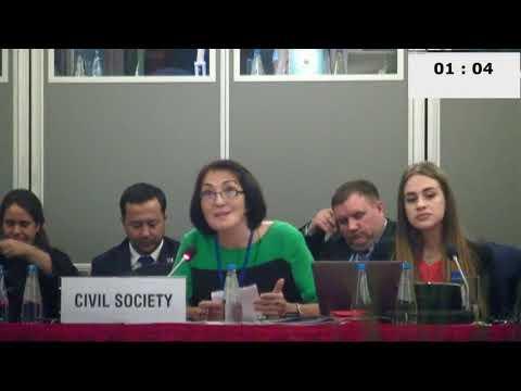 Смелая женщина рассказала правду о Казахстане на конференции ОБСЕ в Варшаве
