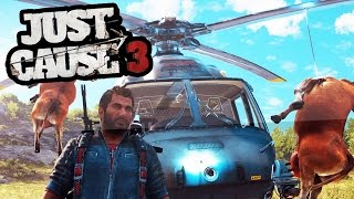 TOP 6 WTF MOMENTS IN JUST CAUSE 3 (Just Cause 3 Fails & Glitches)   SuperRebel