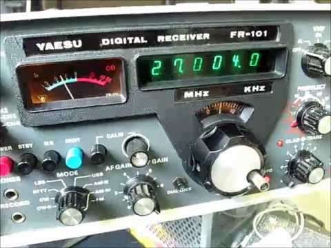 YAESU FR-101 Digital Receiver