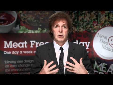 A Meat Free Monday Message to Schools from Paul McCartney