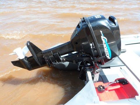 Лодочный мотор Гладиатор 9.8(The Best Outboart Motor) и лодка Гладиатор 320.
