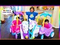 Little Tikes Magical Unicorn Carriage Ride On + Pr