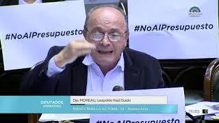Leopoldo Moreau   Intervención en  votación del Presupuesto FMI 2019