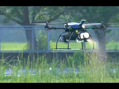 Agridrone is made for targeted bug strikes (Tomorrow Daily 381)